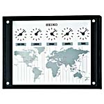Seiko QXA539KLH Sylva World Time Zone Clock CLICK FOR MORE DETAILS