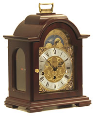 Hermle 22864-070340 Debden Keywound Moon Phase Mantel Clock CLICK FOR MORE DETAILS