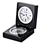 Howard Miller Endeavor 645-743 Polished Black Desk Clock CLICK FOR MORE DETAILS