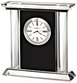 Howard Miller Colonnade 645-745 Crystal Black Desk Clock CLICK FOR MORE DETAILS