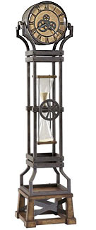 Howard Miller Ironworks 615-074 Quartz Floor Clock CLICK FOR MORE DETAILS