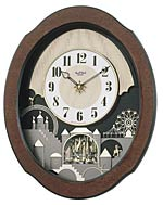 Rhythm 4MH835WB06 Timecracker Legend Musical Motion Clock CLICK FOR MORE DETAILS