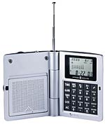 Howard Miller Radio 645-587 Radio Travel Alarm Clock CLICK FOR MORE DETAILS
