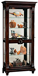 Howard Miller Brenna 680-539 Curio Cabinet CLICK FOR MORE DETAILS
