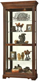 Howard Miller Samuel 680-531 Curio Cabinet CLICK FOR MORE DETAILS