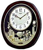 Rhythm 4MH850WD23 Joyful Land Musical Motion Clock CLICK FOR MORE DETAILS