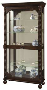 Howard Miller Canyon 680-541 Curio Cabinet CLICK FOR MORE DETAILS