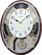 Rhythm Chateau 4MH865WD23 Musical Clock CLICK FOR MORE DETAILS