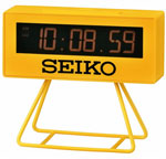 Seiko QHL062YLH Lunar Retro Alarm Clock CLICK FOR MORE DETAILS