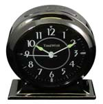 TimeWise Collegiate TW13011 Gunmetal Black Alarm Clock CLICK FOR MORE DETAILS