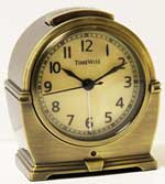 TimeWise Antero TW13006 Antique Bronze Alarm Clock CLICK FOR MORE DETAILS