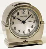 TimeWise Antero TW13005 Antique Silver Alarm Clock CLICK FOR MORE DETAILS
