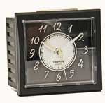 TimeWise Oxford TW15007 Satin Black Alarm Clock CLICK FOR MORE DETAILS