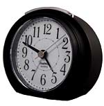 TimeWise Princeton TW15005 Satin Black Alarm Clock CLICK FOR MORE DETAILS