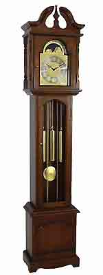 Hermle Emperor Series 091081-90451 Cherry Grandfather Clock CLICK FOR MORE DETAILS