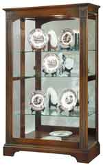 Howard Miller Kingsport 680-571 Mantel Height Curio Cabinet CLICK FOR MORE DETAILS