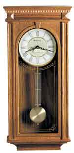 Bulova C4419 Manorcourt Chiming Oak Wall Clock CLICK FOR MORE DETAILS