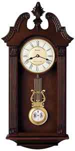 Bulova C4437 Ridgedale Chiming Pendulum Wall Clock CLICK FOR MORE DETAILS