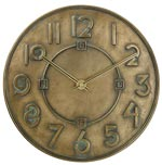 Bulova C3333 Exhibition Wall Clock CLICK FOR MORE DETAILS