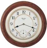 Bulova C4596 William Wall Clock CLICK FOR MORE DETAILS