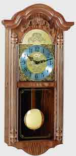 Hermle Hartfield 70736-I92214 Chiming Wall Clock CLICK FOR MORE DETAILS