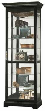 Howard Miller Chesterfield III 680-287 Black Curio Cabinet CLICK FOR MORE DETAILS