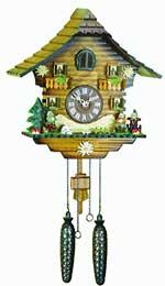 Hermle Neustadt Quartz Cuckoo Clock - 43000 CLICK FOR MORE DETAILS