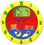 Rhythm 4MH894WD33 Lil Bears Musical Clock for Kids Room CLICK FOR MORE DETAILS
