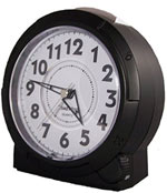 TimeWise Yale TW15003 Satin Black Alarm Clock CLICK FOR MORE DETAILS