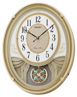 Seiko QXM549SLH Lucienne Musical Wall Clock CLICK FOR MORE DETAILS