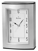 Bulova B2651 Genesis Desk Clock with Picture Frame CLICK FOR MORE DETAILS