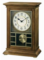 Bulova B1654 Stratford Chiming Mantel Clock CLICK FOR MORE DETAILS