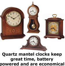 Mantel Clocks by Howard Miller and Seth Thomas Mantel Clocks