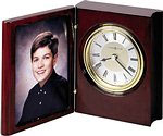 Howard Miller Portrait Book 645-594 Table Clock