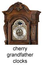 click here for Cherry Grandfather Clocks