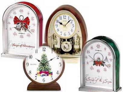 Christmas Clocks with Music
