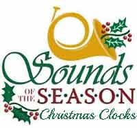 Christmas Clocks for Sale