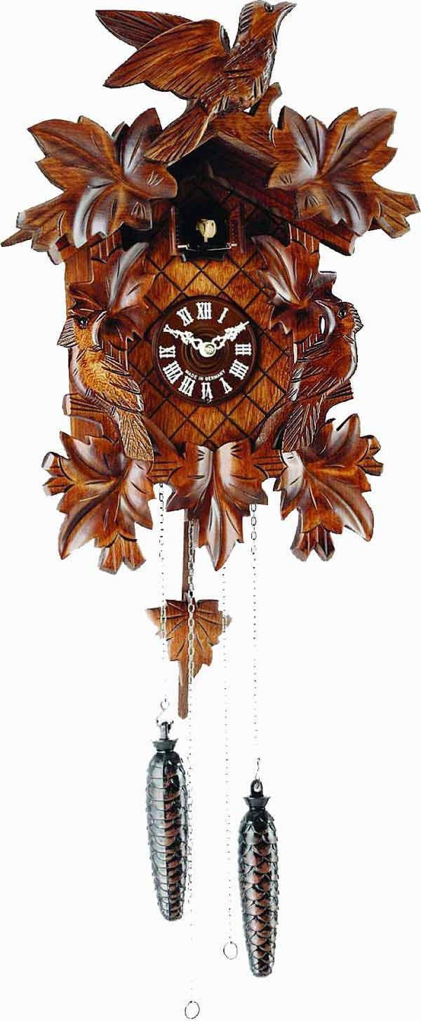 exceptional Quartz Cuckoo Clock Part - 13: Detailed image of the Carlsberg LS Quartz Cuckoo Clock
