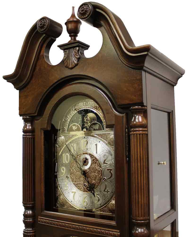 Howard Miller Baldwin 611 200 Grandfather Clock In Cherry
