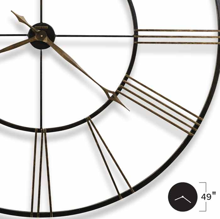 Howard Miller Postema 625 406 49 Inch Large Wall Clock