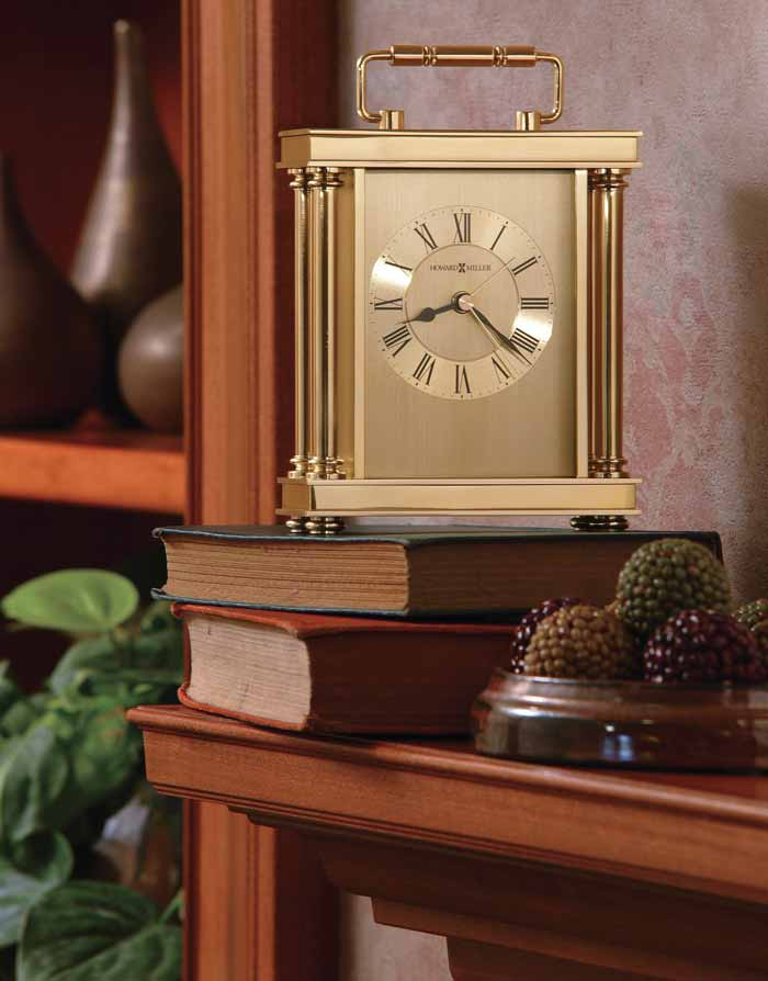 howard miller audra 645-584 table clock with alarm