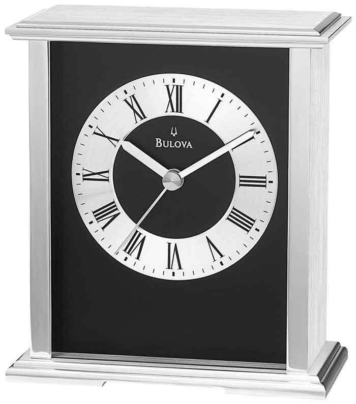 The Bulova B2266 Baron Desk Clock
