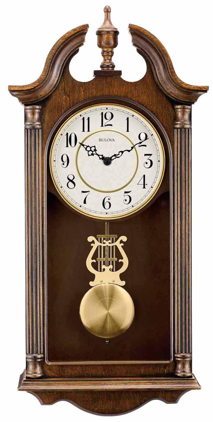 Bulova C1517 Saybrook Quartz Chiming Wall Clock The