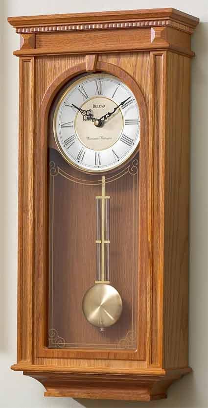 Bulova C4419 Manorcourt II Chiming Wall Clock   The Clock Depot