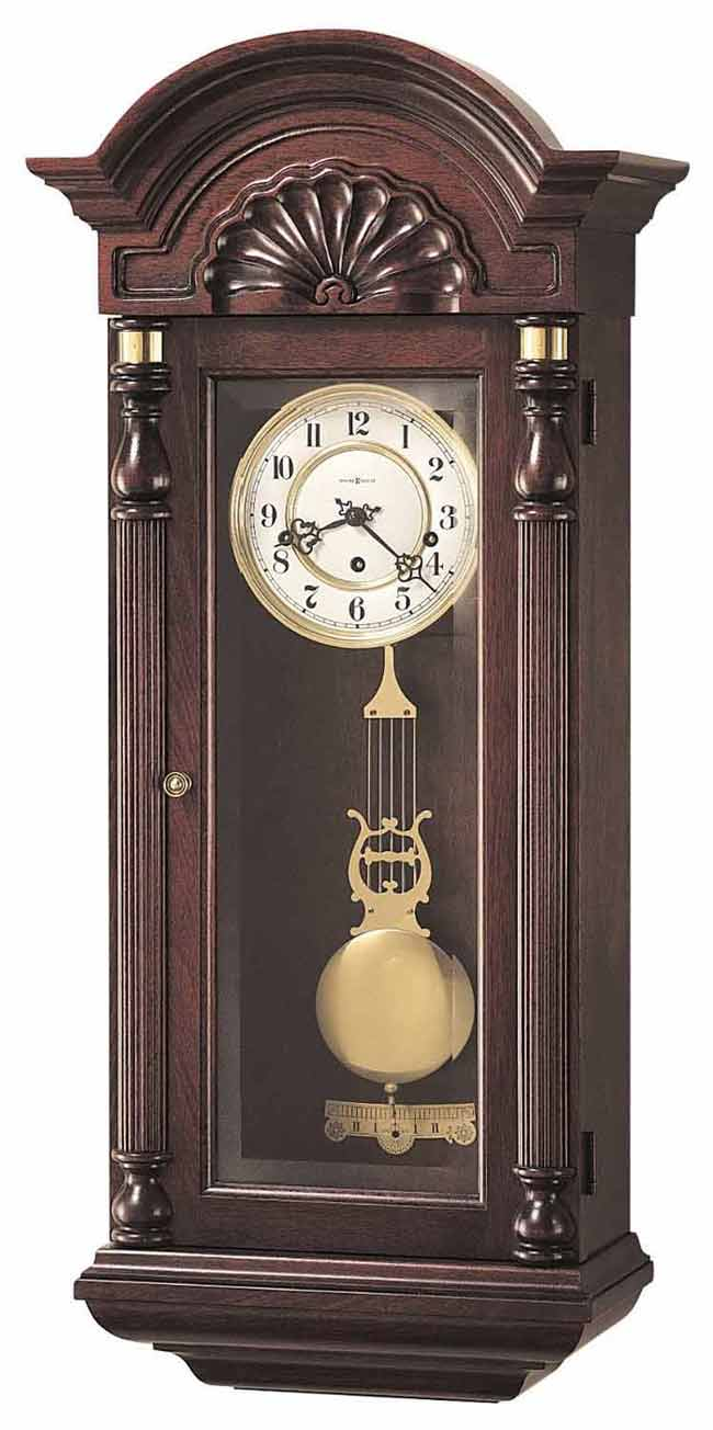 Keywound wall clocks howard miller and hermle keywound wall clocks howard miller jennison 612 221 keywound wall clock amipublicfo Images