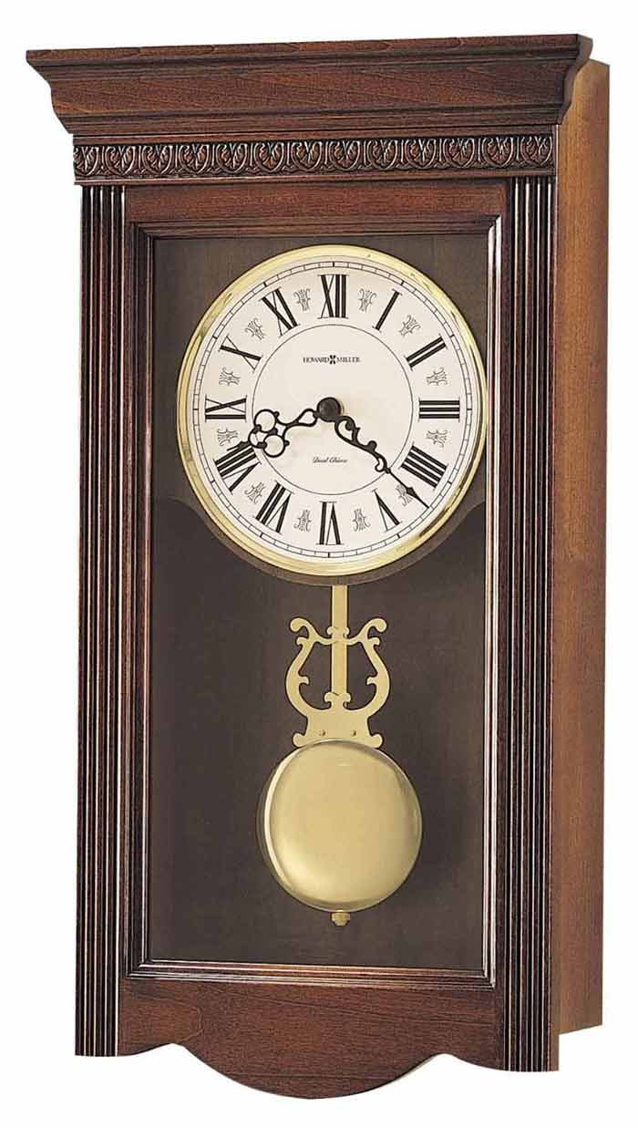 detailed image of the howard miller eastmont chiming wall clock