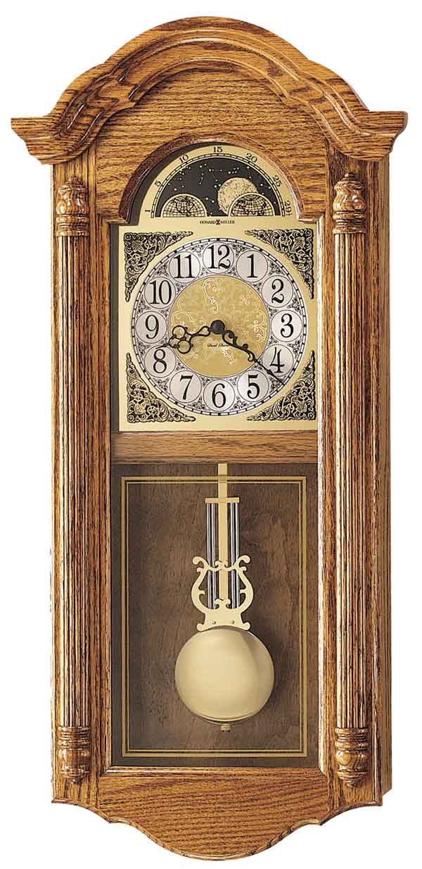 Detailed Image Of The Howard Miller Fenton 620 156 Chiming Wall Clock