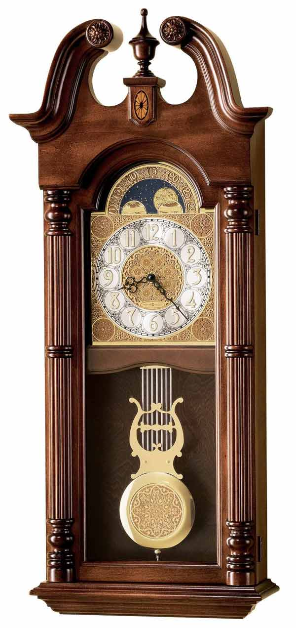 Detailed Image Of The Howard Miller Maxwell 620 226 Chiming Wall Clock