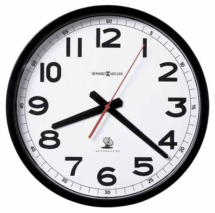 Howard Miller 625 205 Accuwave Wall Ii Atomic Wall Clock