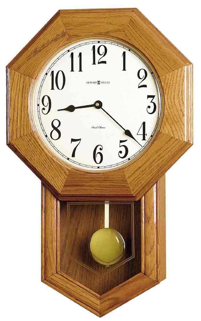 howard miller elliott model 625 242 school house wall clock discounted